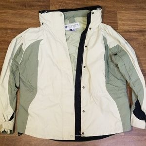 Columbia sunrise peak jacket